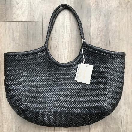 Nantucket big Bamboo Black - Dragon Bags