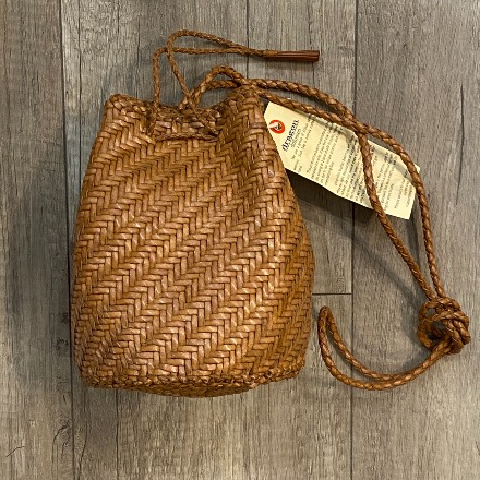Pom Pom Double Jump Dark Tan - Dragon Bags