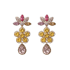 Aurora earrings - Light topaz - Lily & Rose