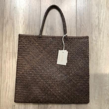 NS Shopper Kete Dark Brown - Dragon Bags