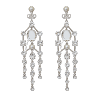 Rosie earrings - Crystal - Lily & Rose