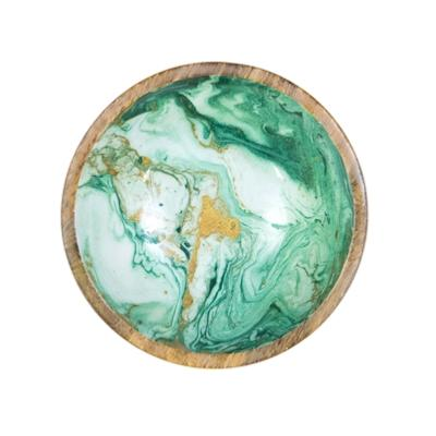 Saladier 25cm Green Marble - By Room