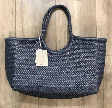 Nantucket big Bamboo Navy - Dragon Bags