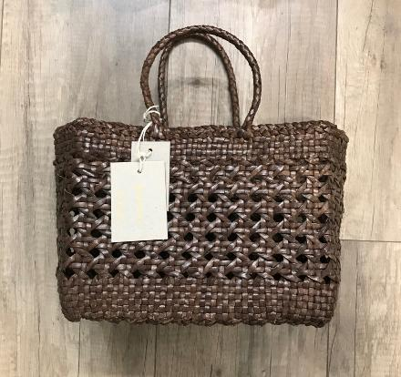 Cannage small Dark brown - Dragon Bags