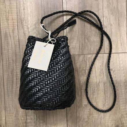 Pom Pom  Black - Dragon Bags