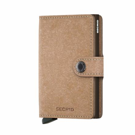 Mini Wallet recycled natural - Secrid