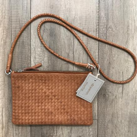 Twin pochette Tan - Dragon bags
