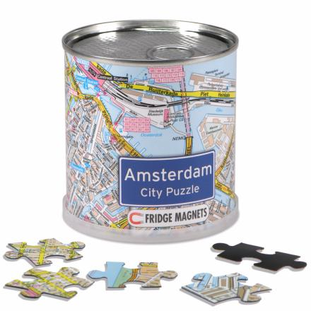 Amsterdam city puzzle magnets - Extragoods