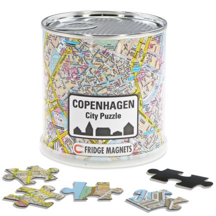 Copenhagen city puzzle magnets - Extragoods