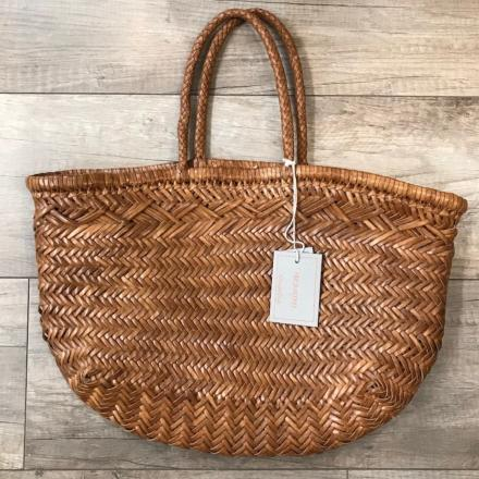 6 lines Bamboo triple jump big Tan - Dragon Bags