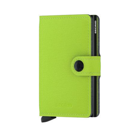 Mini Wallet Yard LIME - Secrid