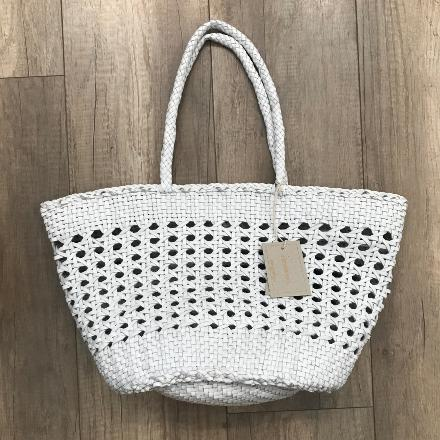Market cannage bag White - Dragon Bags