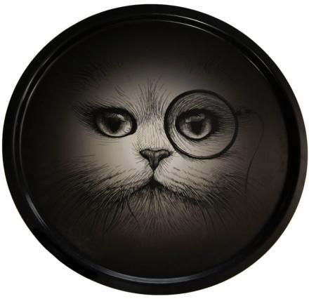 Plateau Monocle Cat Circular - Rory Dobner