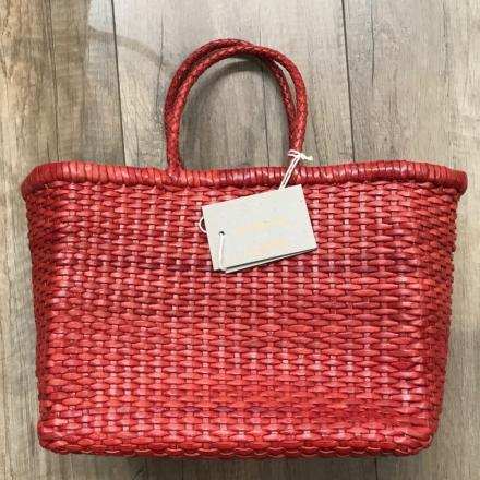 B Weave small Red - Dragon Bags