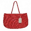 Sac cabas tressé cuir Octo Red - Dragon Bags