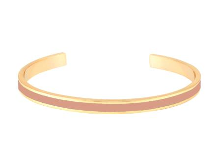 Bracelet bangle rose  poudré - Bangle Up