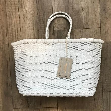 B Weave small White - Dragon Bags