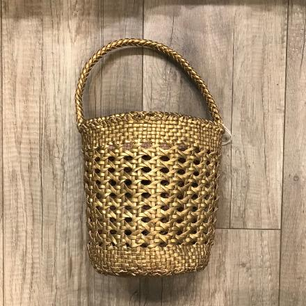 Bucket Cannage small Gold - Dragon Bags