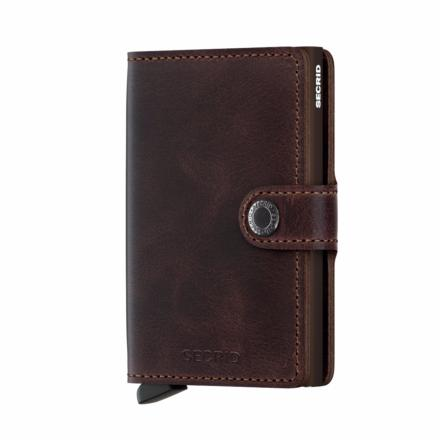 Mini Wallet vintage chocolate - Secrid