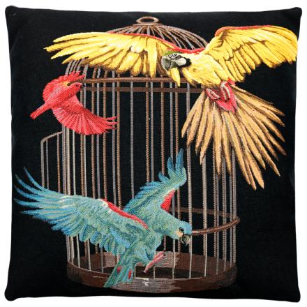 Caged Parrots - FS Home Collections