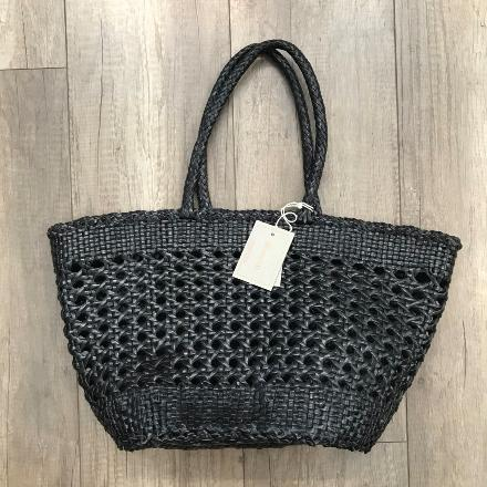 Market cannage bag Black - Dragon Bags
