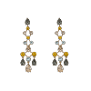 Nicola earrings - Light topaz - Lily & Rose