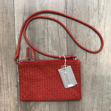 Twin pochette Red - Dragon bags