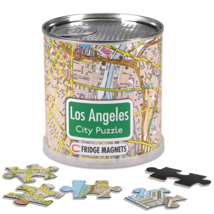 Los Angeles city puzzle magnets - Extragoods