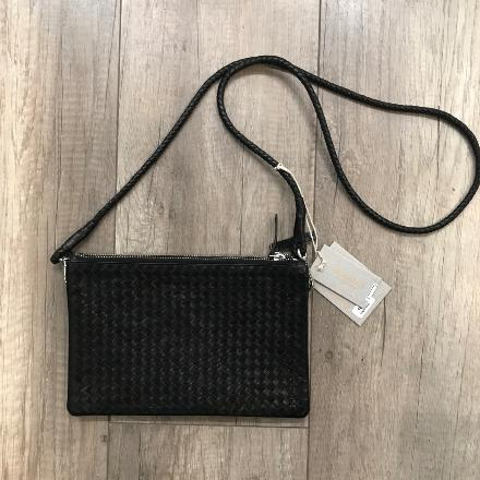 Twin pochette Black - Dragon bags