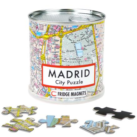 Madrid city puzzle magnets - Extragoods