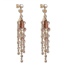 Rosie earrings - Pink champagne - Lily & Rose