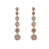 Celeste earrings - Champagne - Lily & Rose