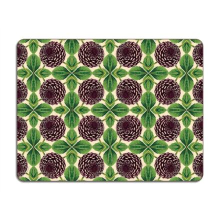 Set de table Purple Dahlia BY PATCH NYC.