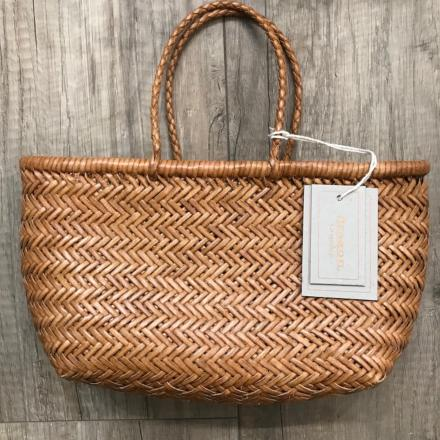 Mini Bamboo triple jump Tan - Dragon Bags