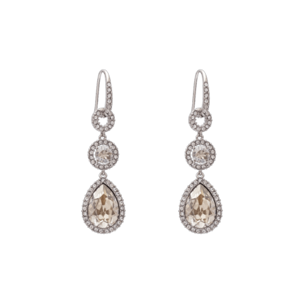 Amy earrings - Crystal - Lily & Rose