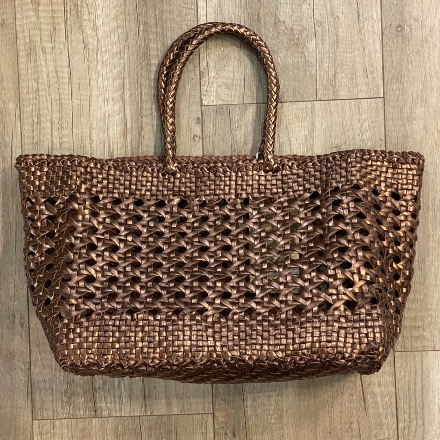 Cannage big bronze - Dragon Bags
