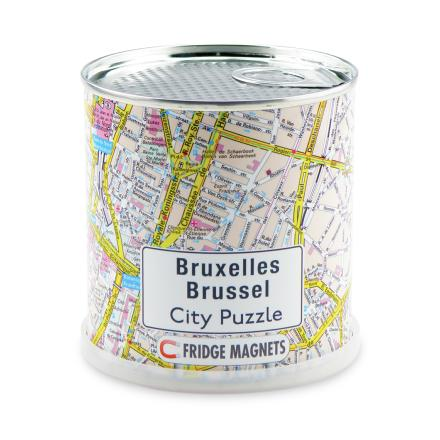 Bruxelles city puzzle magnets - Extragoods