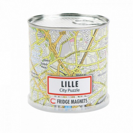 Lille city puzzle magnets - Extragoods