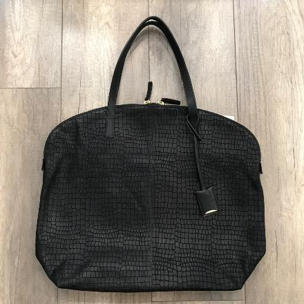 Sac Flammand M - Croco Black