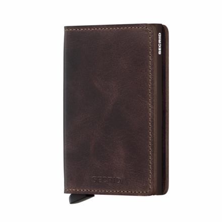 Slim Wallet vintage chocolate - Secrid